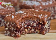 Fantastic no bake easy to make protein energy bars!