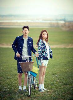 Lee Sung Kyung และ Nam Joo Hyuk - Ceci ฉบับนิตยสารเมษายน '14