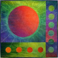 Electric Ellipses #2 by Caryl Bryer Fallert-Gentry