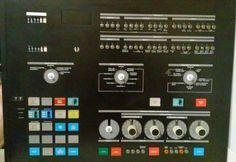 Vintage 1970's IBM Mainframe Computer System 3705 Control Unit Front Panel #IBM
