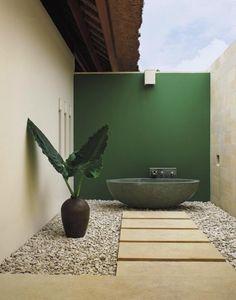 Outdoor bath::