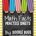 This is a HUGE set of math fact practice sheets. 250+ pages.  It features 9 different sets of addition, subtraction and mixed facts.  The 9 sets ar...