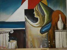 Original Artwork, Facebook, Canvas, Gallery, Artist, Painting, La Luna, Tela, Painting Art