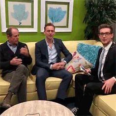 Live with Tom Tom Hiddleston! Video: https://www.facebook.com/KevinMcCarthyFOX/videos/1685097725090420/