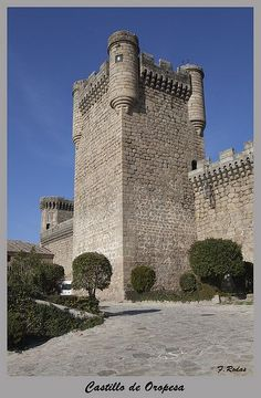 Castillo de Oropesa, Spain
