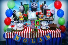 Thomas and friends Birthday Party Ideas | Photo 8 of 17