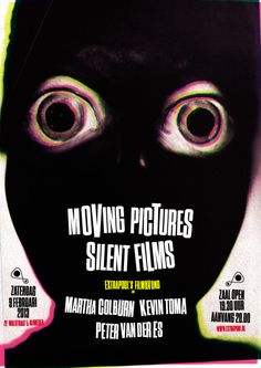 Moving pictures, silent films #extrapool #poster #redbol