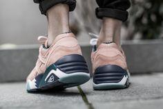 PUMA R698 X ALIFE  shop online here: www.tint-footwear.com/r698-x-alife-360749-01  puma x alife r698 retro running trinomic peach tint footwear studio