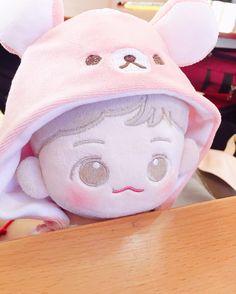 Pretty Dolls, Cute Dolls, Army Room Decor, Kpop Merch, Pop Dolls, Plush Dolls, Plushies, Baekhyun, Toys