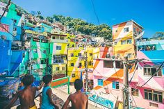 Rio de Janeiro's mountainside favelas are as iconic as some of the city's famous landmarks – but offer a completely different perspective to the main tourist sites. Formerly dangerous no-go areas, many are now safe and open, welcoming visitors on favela tours and music nights at bars held within the communities