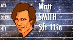 Matt Smith is 5ft 11in tall, fact fans!