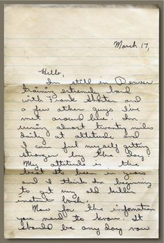 Letter written by Steve Prefontaine shortly before his death to his High School Coach, Walt McClure. The full letter is available for download
