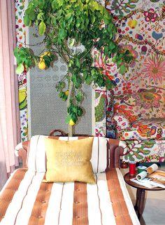 Summer interior from Svenskt Tenn