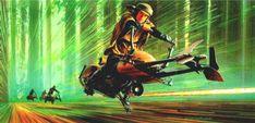 Star Wars Concept Art by Ralph McQuarrie (1929 - 2012)