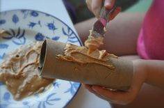 How To Make Toilet-roll Bird Feeders - How To Make Toilet-roll Bird Feeders