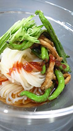 Reimen (Japanese Cold noodle)