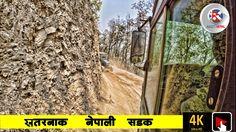 World Most wrost Crazy Bus Journey Nepal (Shantipur) खतरनाक बस यात्रा शा...