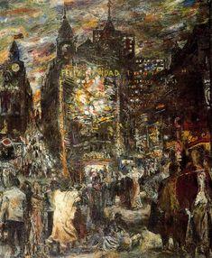 Nochebuena. 1955. Obra de Antonio López García