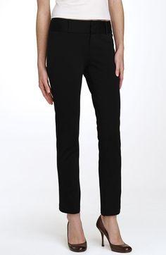 MICHAEL Michael Kors Straight Leg Ponte Knit Pants (Regular & Petite) available at #Nordstrom