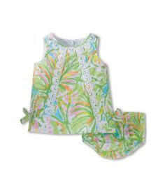 Lilly Pulitzer Kids Baby Lilly Shift (Infant) (Multi Elephant) Girl's Dress