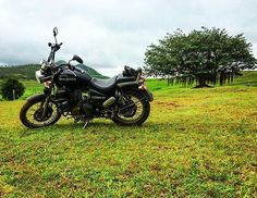 Sometimes on the way to your destination you get lost and find a better place than desired destination.  Same thing happened on my last ride to Bhatghar-Varandha.  3 bullets 3 riders and with only one goal to get lost in wilderness.  After visiting Necklace Point we started towards Varandha Ghat and in between I came across a beautiful lush green mountain and in a friction of second I was able to locate a small trail towards it. And without a second thought started following it.  Fellow…