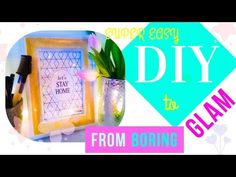 37cfb8260679 1 Simple DIY Hack How to Make a Sparkly Room Decor from items