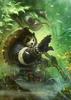 Yorukaito o Panda do Sudeste