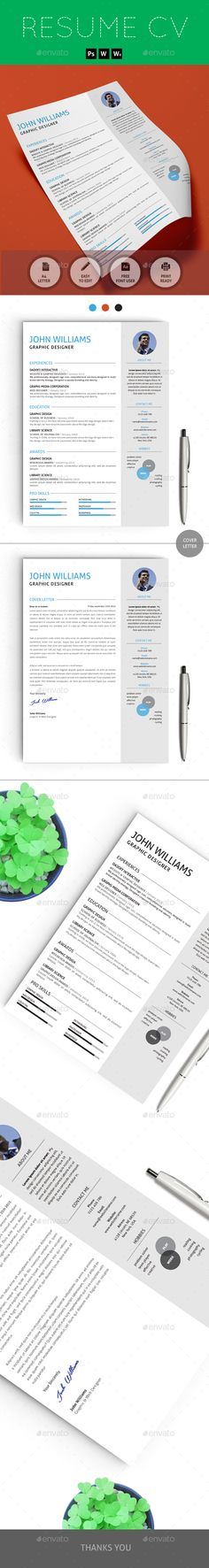 CV Resume \ Cover Letter Resume cover letters, Resume cv and - is a cv a resume