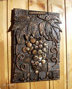 Diy Crafts Slime, Diy And Crafts, Arts And Crafts, Antique Wall Decor, Aluminum Foil Art, Glue Art, Coin Art, Homemade Art, Newspaper Crafts