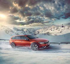 Komfort i poczucie bezpieczeństwa. #VW #Passat #Alltrack