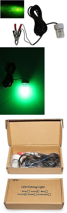 lights 123489: led green fishing night fishing boat light, Reel Combo