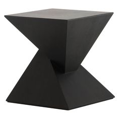 Nuevo Giza End Table - The Nuevo Giza End Table is a wonder to behold. This piece is constructed from tough medium-density fiberboard, an outstandingly strong material for a...