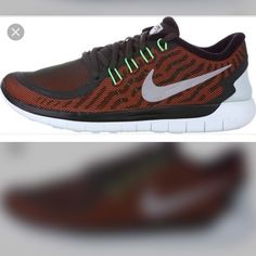 Nike Free 5.0 Flash PLEASE READ!!! Lowballers will be blocked and ignored!  NO Trades Please don't ask. No Holds❌  Please submit all offers through the offer button!  ☑️  Brand new in original box that's missing a lid Size 8.5 (women's)   I inspect all my items before I ship them out so please be sure to read descriptions before purchasing to prevent any miscommunication. Please ask any questions that's not already in the description Nike Shoes Athletic Shoes