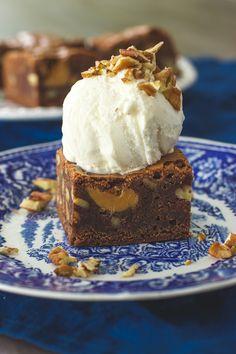 Dulce de leche-browniet - Sweet Food O´Mine