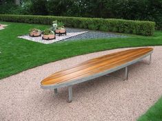 surfboard bench - Google Search
