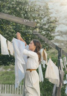 New poster of The Light Between Oceans :) Ocean's Movies, Film Movie, Cinema Posters, Film Posters, Michael Fassbender And Alicia Vikander, The Light Between Oceans, Good Advertisements, Ocean Wallpaper, Creative Poster Design