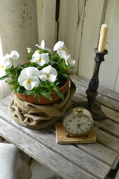 Faded Charm Blog... Old Clock ~ Fab Vignette!*!*!