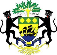 1960, Gabón, Capital: Libreville, Ext 267667 Km2 #Gabón #Libreville (L1905)