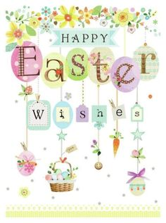 Lynn Horrabin - easter wishes.jpg - Lynn Horrabin – easter wishes.jpg Lynn Horrabin – easter wishes. Happy Easter Quotes, Happy Easter Wishes, Easter Wishes Messages, Holiday Messages, Ostern Wallpaper, Easter Arts And Crafts, Easter Illustration, Diy Ostern, Easter Pictures