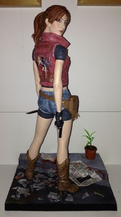 resident evil claire redfeild figure | Resident Evil Claire Redfield (Premium Format) | BtVSFigs - A ...