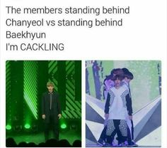 The difference between Chanyeol & Baekhyun