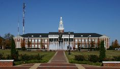 Bibb Graves Hall on Campus of Troy University, Troy, Alabama