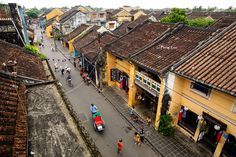 Narrow streets in Hoi An. More information can be found at: http://en.amica-travel.com/