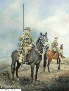 Death and Glory in Flanders Fields by Chris Collingwood. (PC) The 17th Lancers in Flanders 1916