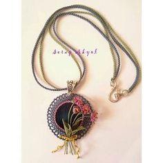 #İğneoyası#kolye#takı#taşlıkolye#needlelace #necklace #elişi #göznuru