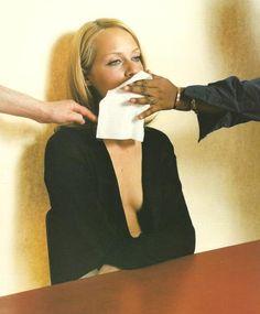 Amber Valletta by Craig McDean for Jil Sander, Fall/Winter 1995