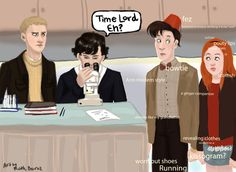 The 53 Best, Worst, And Weirdest Examples Of Doctor Who/Sherlock Crossover Fan Art http://gerald-pilcher.com