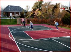 VersaCourt's products are the most versatile outdoor game courts on the market, allowing for high performance gameplay.