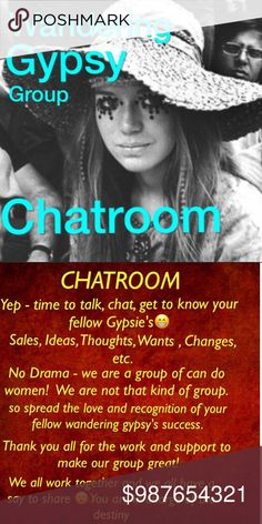 Gypsy chat room