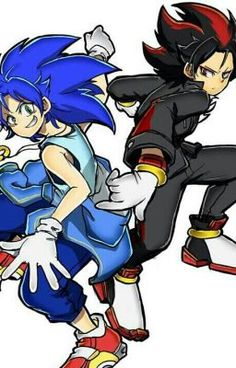 Sonic y Shadow Shadow The Hedgehog, Sonic The Hedgehog, Hedgehog Art, Silver The Hedgehog, Sonic Anime, Human Shadow, Game Character, Character Design, Sonic Adventure 2